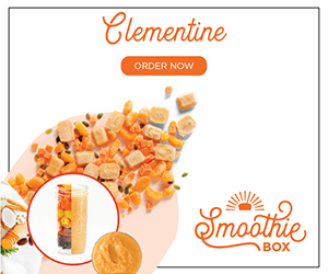 The SmoothieBox.com Clementine Super Smoothie is crisp and refreshing, like a summer day.