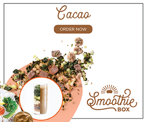 The SmoothieBox.com Cacao Super Smoothie is a guilt-free, rich and velvety chocolate milkshake packed with nutrients.