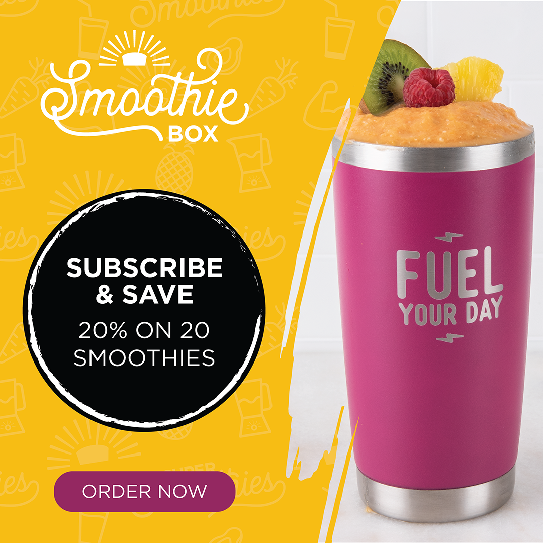 Subscribe & Save 20% On 20 Smoothies At SmoothieBox.com, no coupon needed!