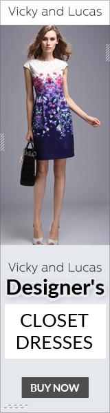 Vicky And Lucas Designer's Closet Dressess