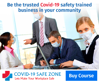 Be the trusted Covid-19 safety trained business in your community