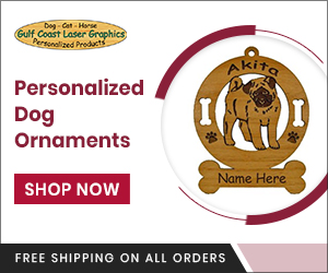 Personalized Dog Ornaments - 300 x 250