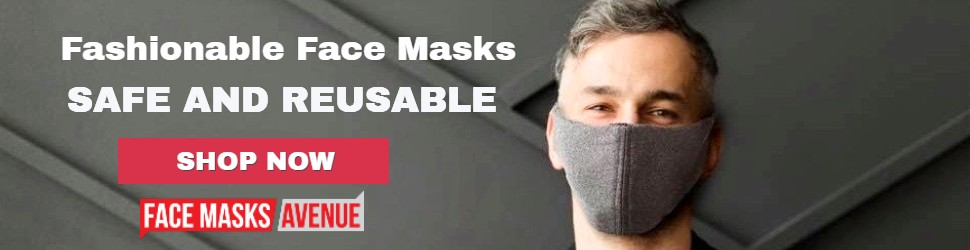 Non-medical Reusable Masks Available Now! Super Comfortable, Washable 2-Layer fabric