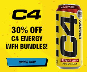 30% off C4 Energy WFH Bundles!
