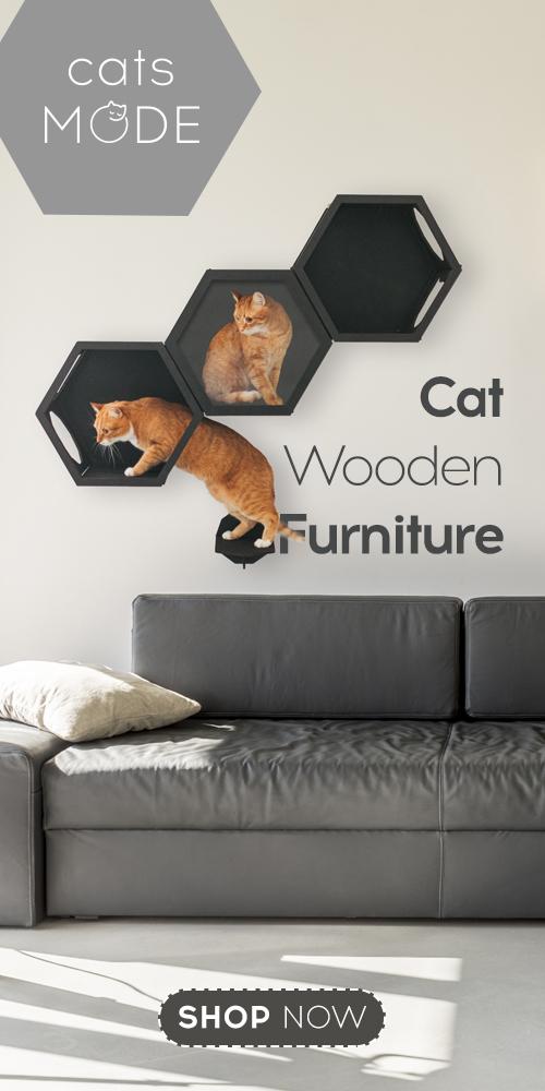 Cat Furniture Shelf Color Black