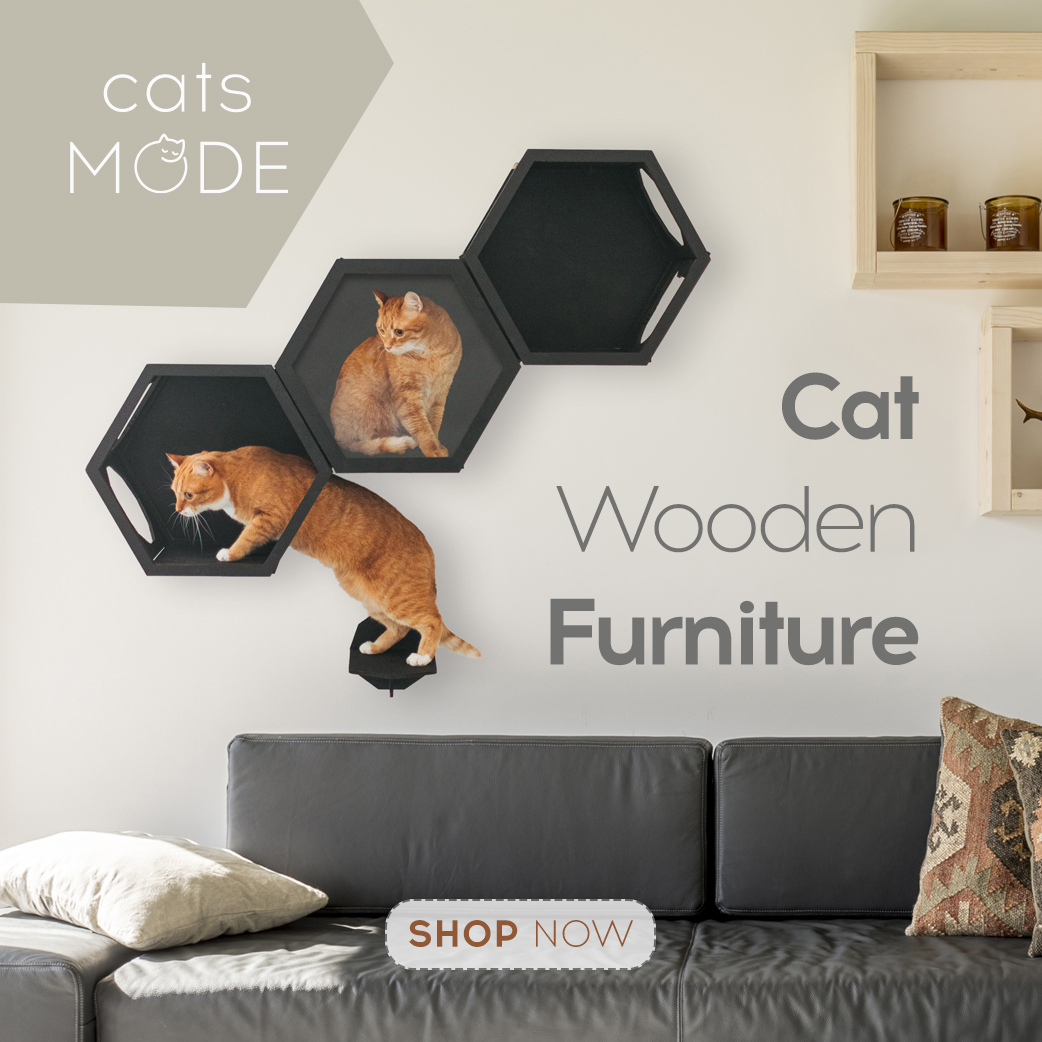 Load image into Gallery viewer, Cat Furniture Shelf Color Black                                                     Load image into Gallery viewer, Cat Furniture Shelf Color Black