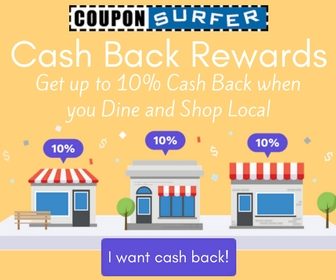 CouponSurfer Cash Back Rewards
