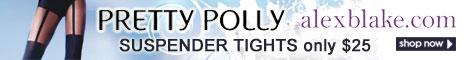 Pretty Polly Suspender Tights from AlexBlake.com