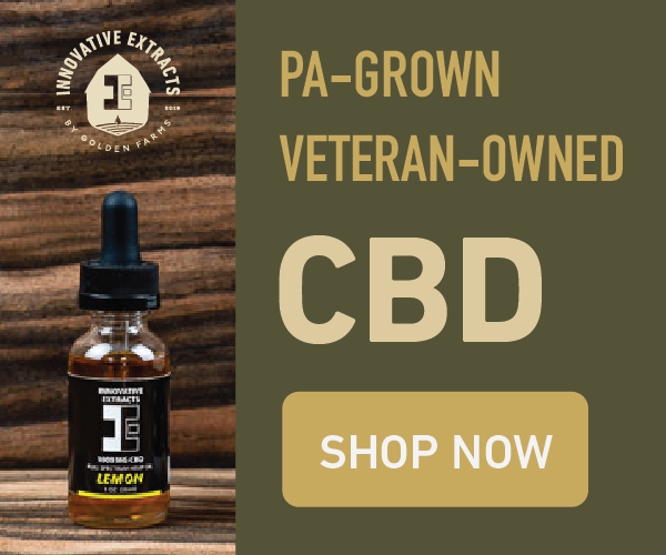 CBD - From our farm to your home.