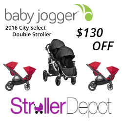 $130 OFF Baby Jogger City Select Double, Now $569