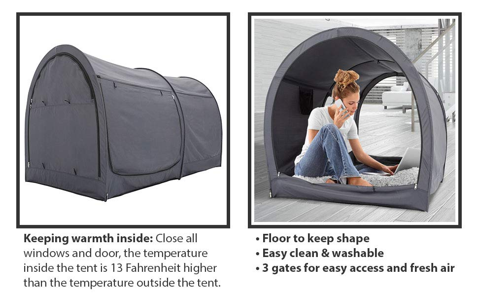 Privacy Pop Bed Tent Queen