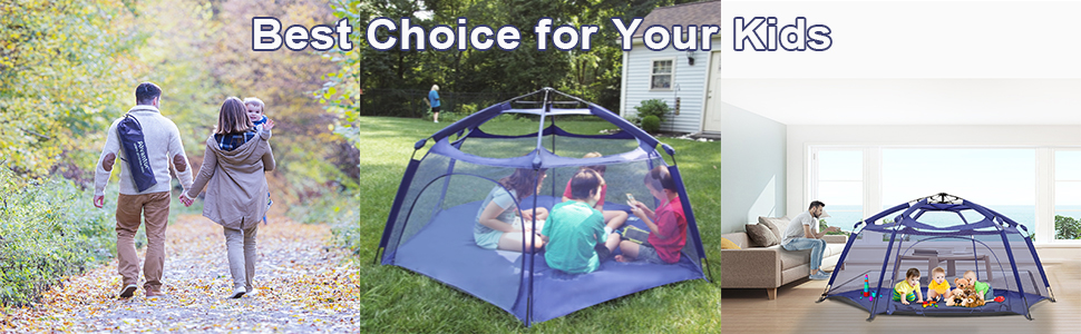 Bubble Tent Bed