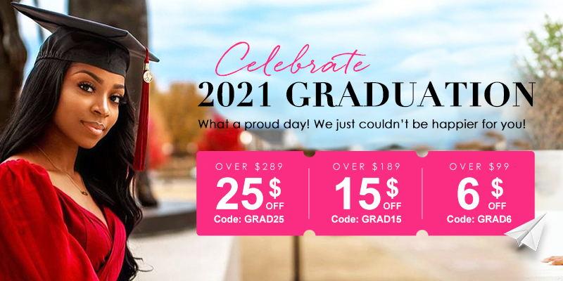 UniceHairGraduationSale2021 - $15 OFF Over $189