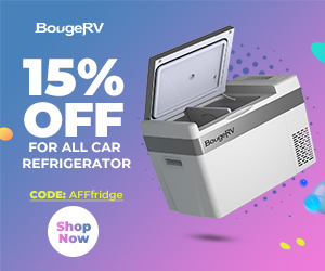"""Use coupon code""""AFFfridge"""" to enjoy 15% off for All Portable Refrigerators"""