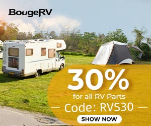 """Use coupon code """"RVS30"""", enjoy a 30% off for all RV Parts."""