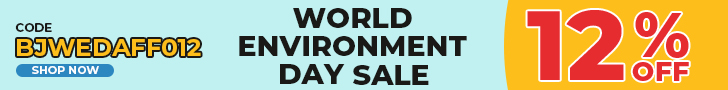 12% Off Sitewide for World Environment Day Sale