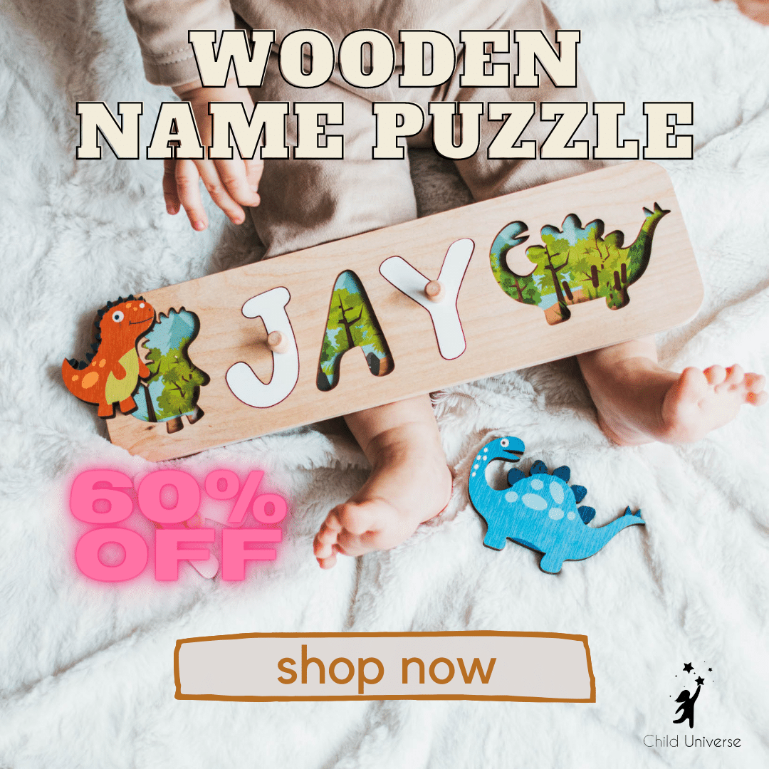 Dinosaurs Board Name Puzzle
