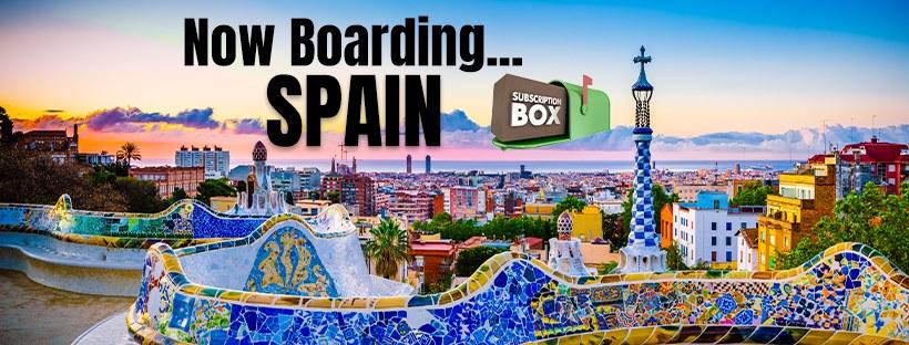 Spain Subscription Suitcase