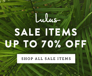 Over 1000 Items On Sale! Shop Up to 70% Off at Lulus.com