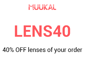 Lenses 40% OFF