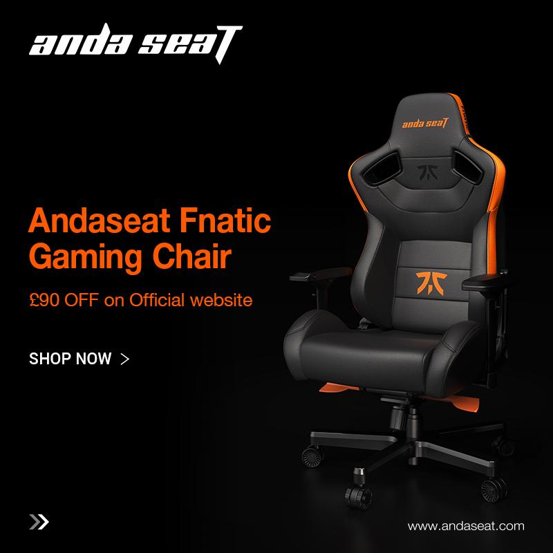 andaseat fnatic gaming chair sale