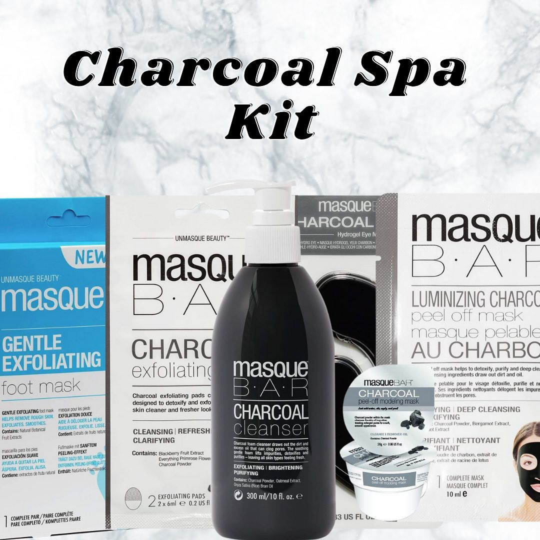 Our Charcoal Spa Kit. Shop Now!