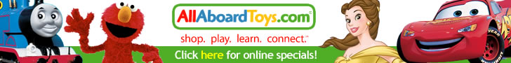 Sesame Street and Learning toys at AllAboardToys.com