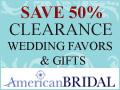 Shop Clearance at AmericanBridal.com