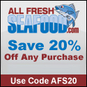 20% off Fresh Seafood