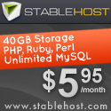 $5.95 - StableHost Affordable Web Hosting