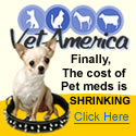 Finally the cost of pet meds is shrinking!
