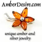 unique amber jewelry