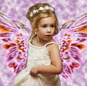 Angel Wings Photo Enhancement
