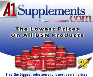 Get the best selection and prices on over 6000 best selling supplements and fitness products at  www.A1Supplements.com