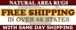 natural area rugs shipping offer