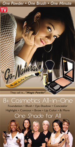 Go Natural Cosmetic Makeup - Wholesale and Retail