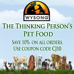 Wysong - The thinking person's pet food.