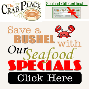 Crab Place Seafood Gift Certificates
