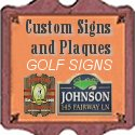 Custom and Stock Golf Signs from CustomSignsandPlaques.com