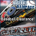 Baseball Equipment on Clearance