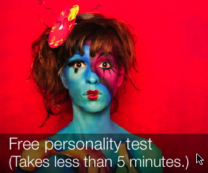 Free personality test. Takes less than 5 minutes.