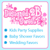 Designed2BSweet - Baby Shower and Wedding Favors and Kids Party Supplies