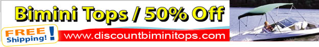 Bimini Tops 50% Off