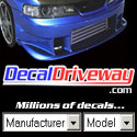 Decal Driveway - Millions of decals!