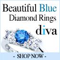 Beautiful Blue Diamond Rings - Diva Diamonds