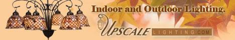 Upscale indoor and outdoor lighting