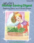 Molly's Money Saving Digest - Gardening Basics and Natural Cleaners. www.econobusters.com