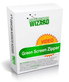Check out the new Green Screen Zipper for VIDEO now!