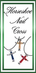 Horseshoe Nail Cross