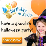 Get Your Halloween Party Supplies at Birthday in a Box
